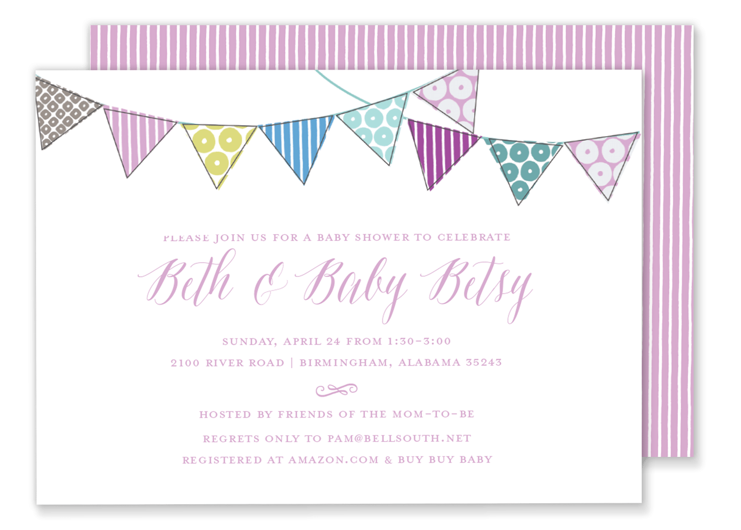 pink birthday party invitations - Vaydile.euforic.co