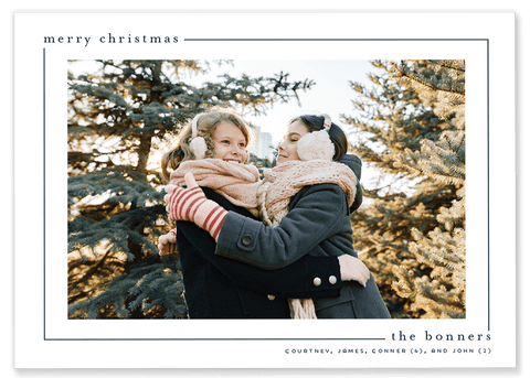 Bonner Border Christmas Card