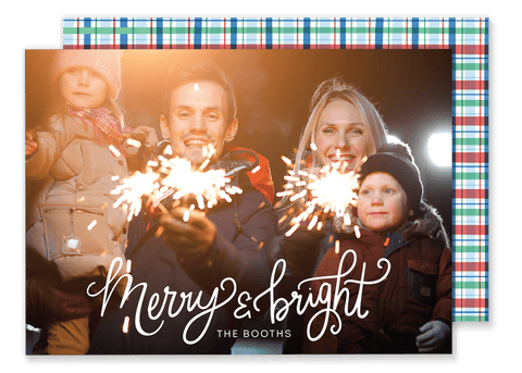 Booth Bright Christmas Card