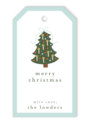 Bow Tree Gift Tags