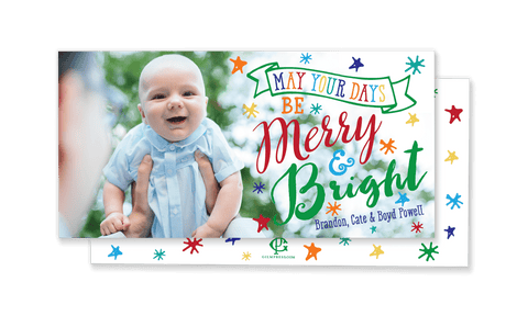 Boyd Bright Christmas Card