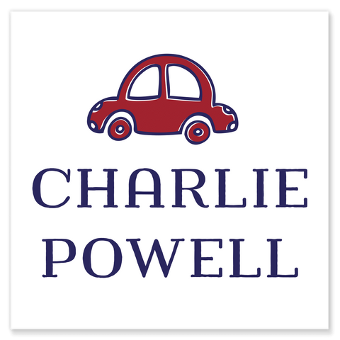Charlie Car Calling Cards
