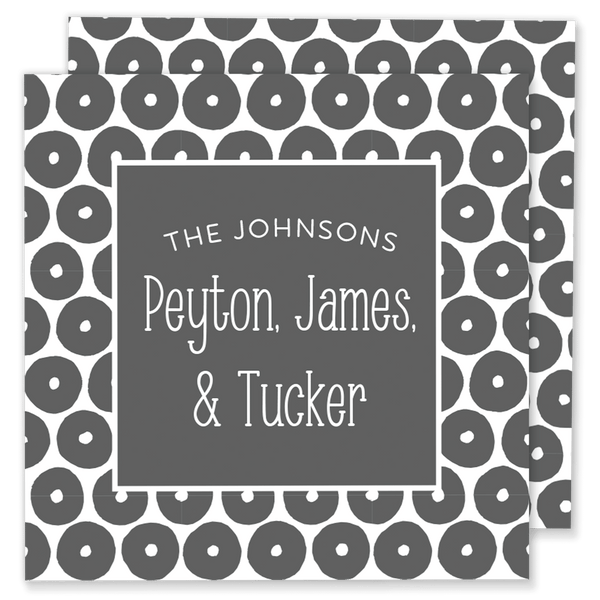 Dotted Family Calling Card