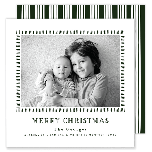 George Green Square Christmas Card