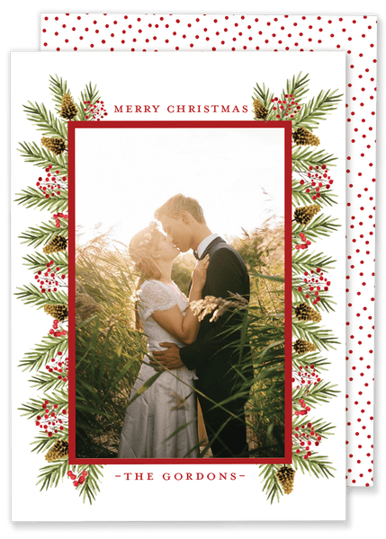 Gordon Greenery Christmas Card