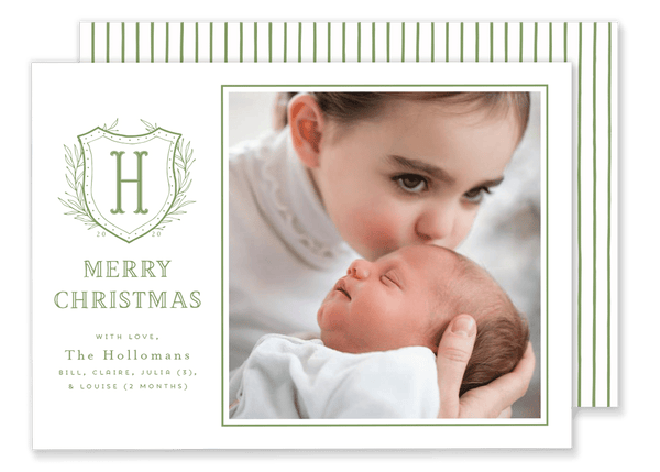 Holloman Crest Christmas Card