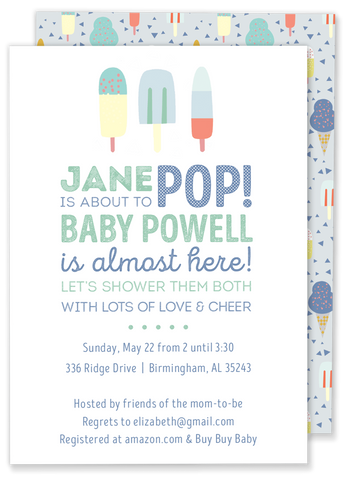 Jane Pop Party Invitation