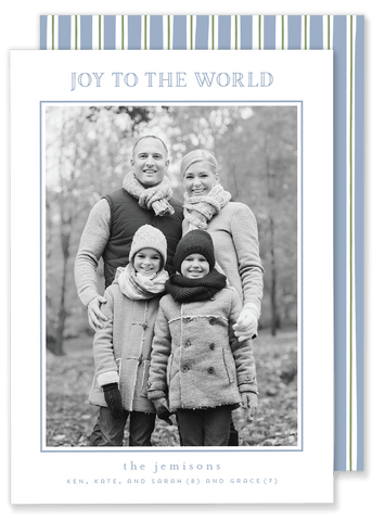 Jemison Joy to the World Christmas Card