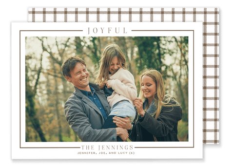 Jennings Joyful Christmas Card
