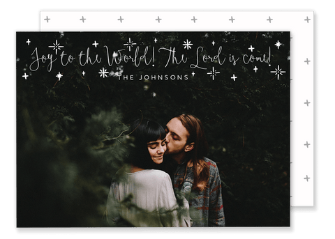 Johnson Joy to the World Christmas Card