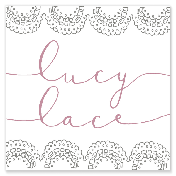 Lucy Lace Calling Cards