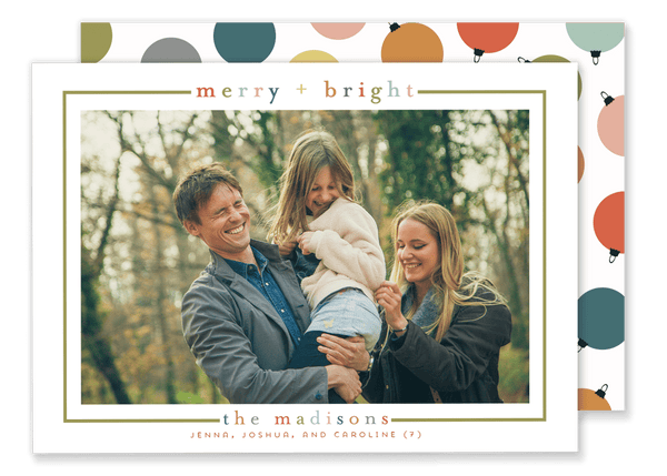 Madison Merry + Bright Christmas Card