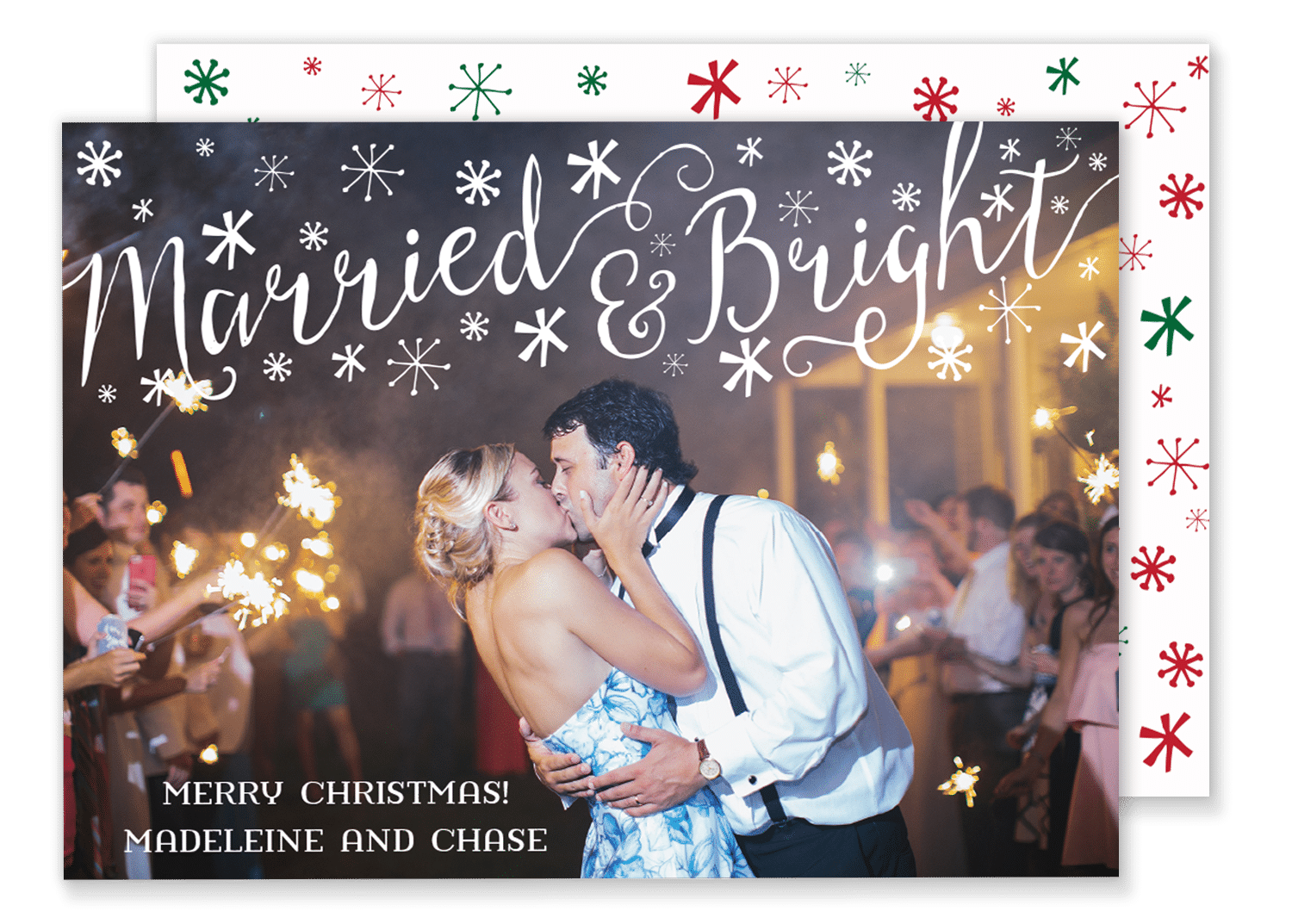 Married and Bright Christmas Card – Gilm Press