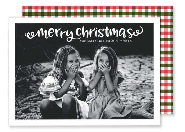 Marshall Merry Christmas Card