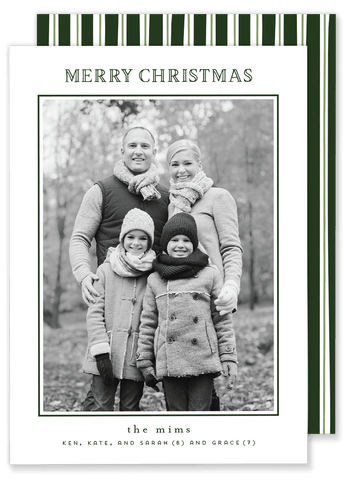 Mims Merry Christmas Card