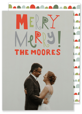 Moore Merry Merry Christmas Card