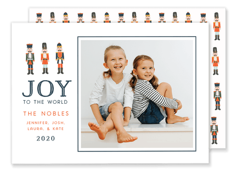 Noble Nutcracker Christmas Card