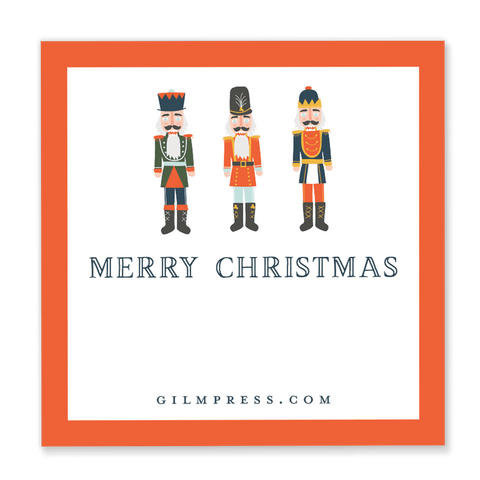 Nutcracker Gift Tag