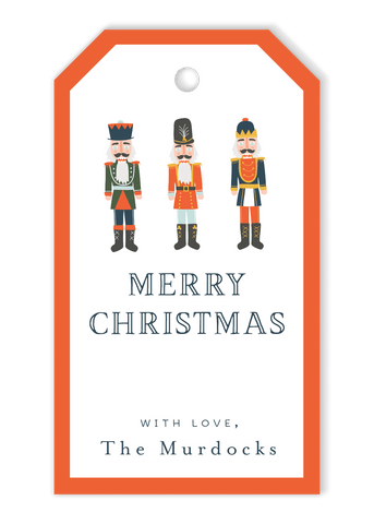 Nutcracker Gift Tags