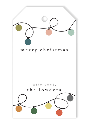 Ornament Strand Gift Tags