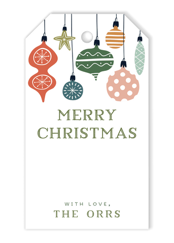 Orr Ornament Gift Tags