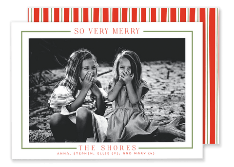 Shore So Very Merry Christmas Card