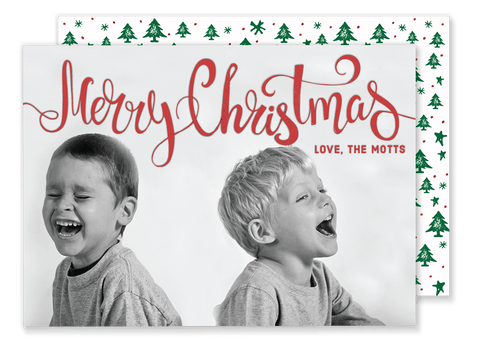 Simple Merry Christmas Card