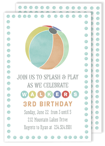 Splash and Play Birthday