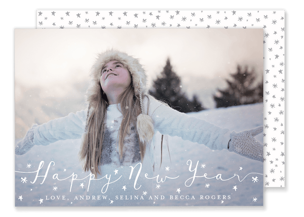 Starry New Year Card