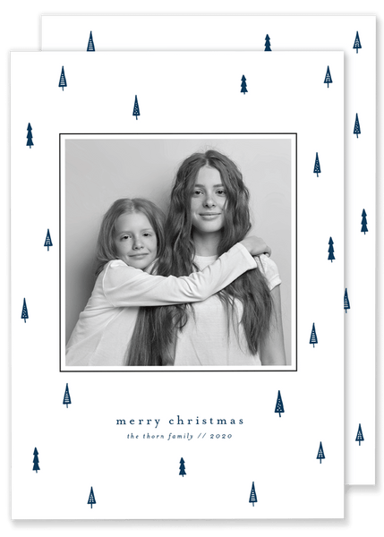 Thorn Tree Christmas Card