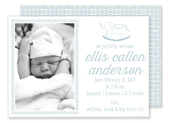 Eleanor Birth Announcement