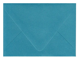 Peacock Teal Envelopes