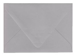 Real Grey Envelopes