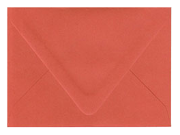 Tangy Orange Envelopes