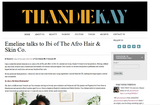 We Talk to ThandieKay About the Brand and Black Wellness