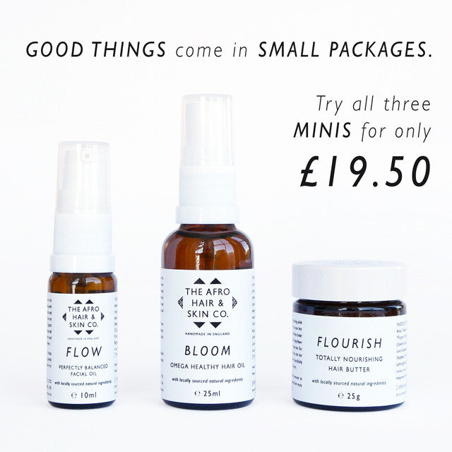 We Now Stock Minis - Healthy Hair & Skin Made Simple