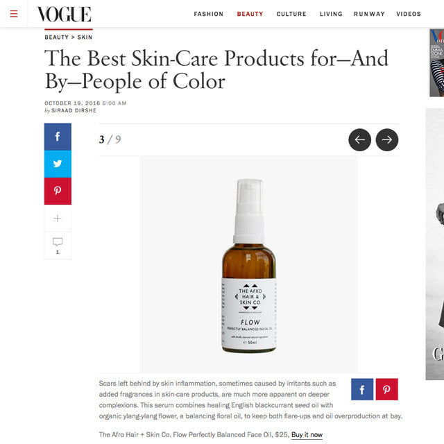 Proud to Be VOGUE's Best Skincare for People Of Colour