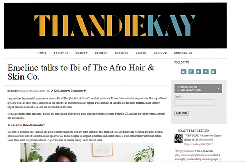 Thandie Kay Interview with Ibi