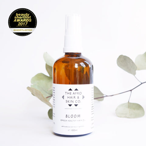 BLOOM - Omega Healthy Hair Oil, 100ml PRE ORDER ONLY