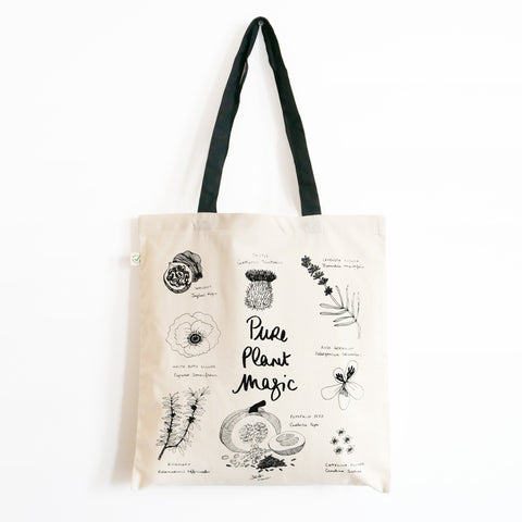 PURE PLANT MAGIC - Tote Bag feat. Araki Koman