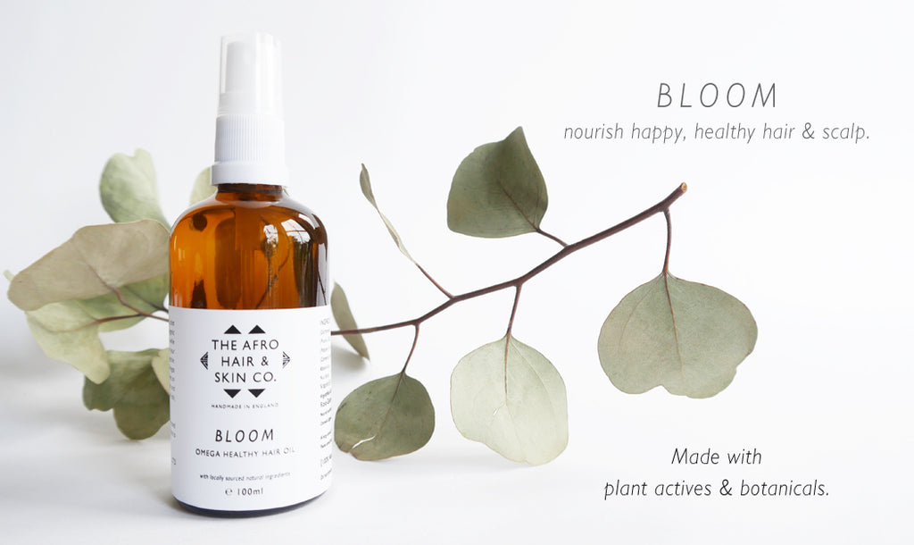 Bloom Omega Healthy Hair Oil