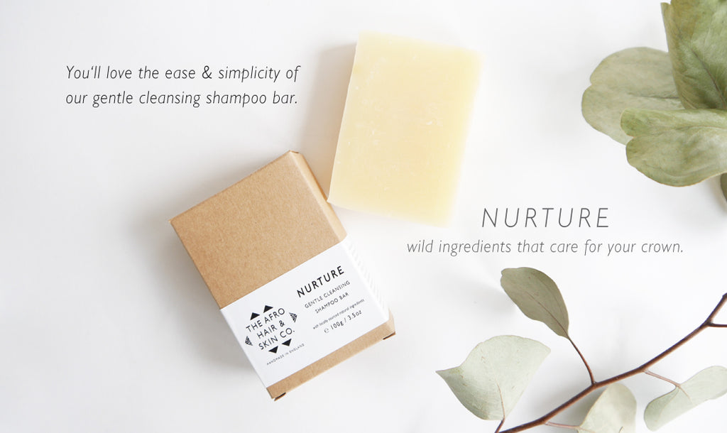 Nurture Gentle Cleansing Shampoo Bar