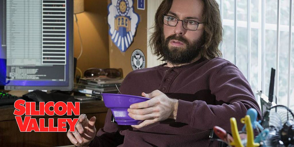 Obol - The Original Never Soggy Cereal Bowl on New HBO hit show Silicon Valley