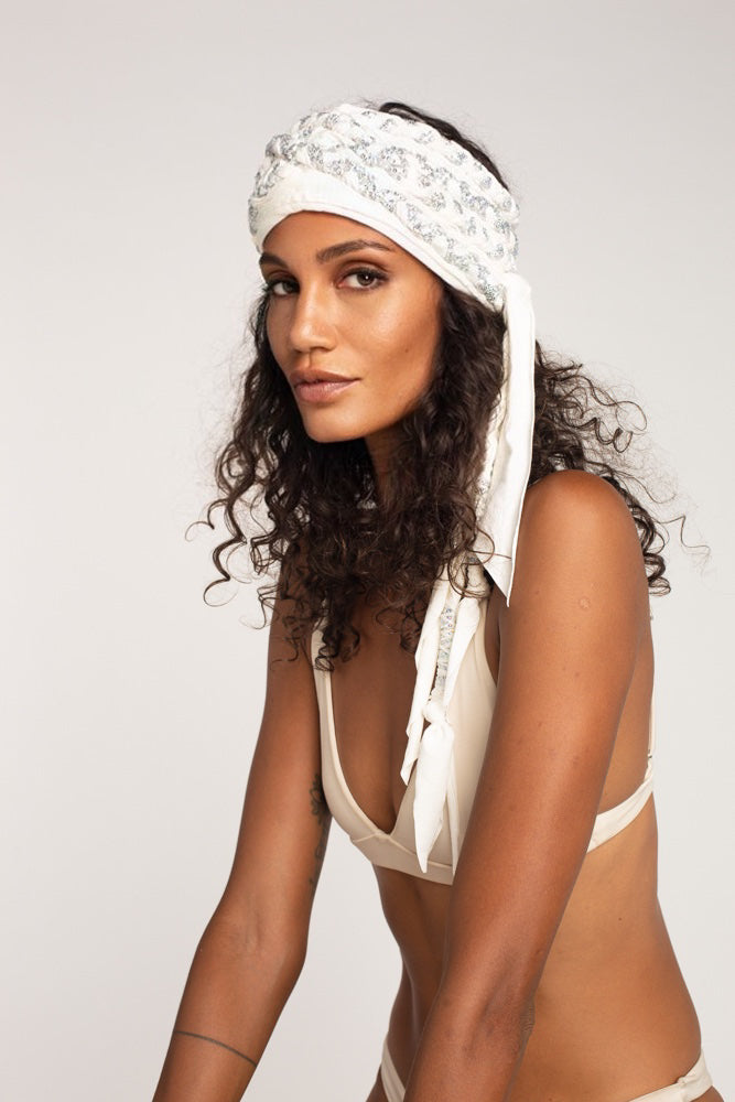 Luxe Turban - sequin