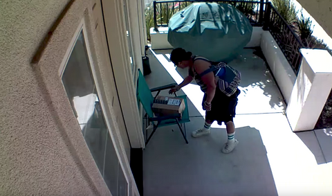 Watch Out for Package Theft with Blink