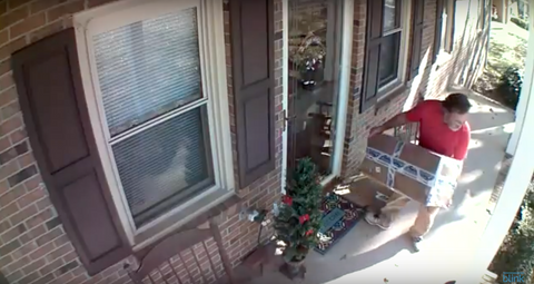 Package Thief Caught on Blink