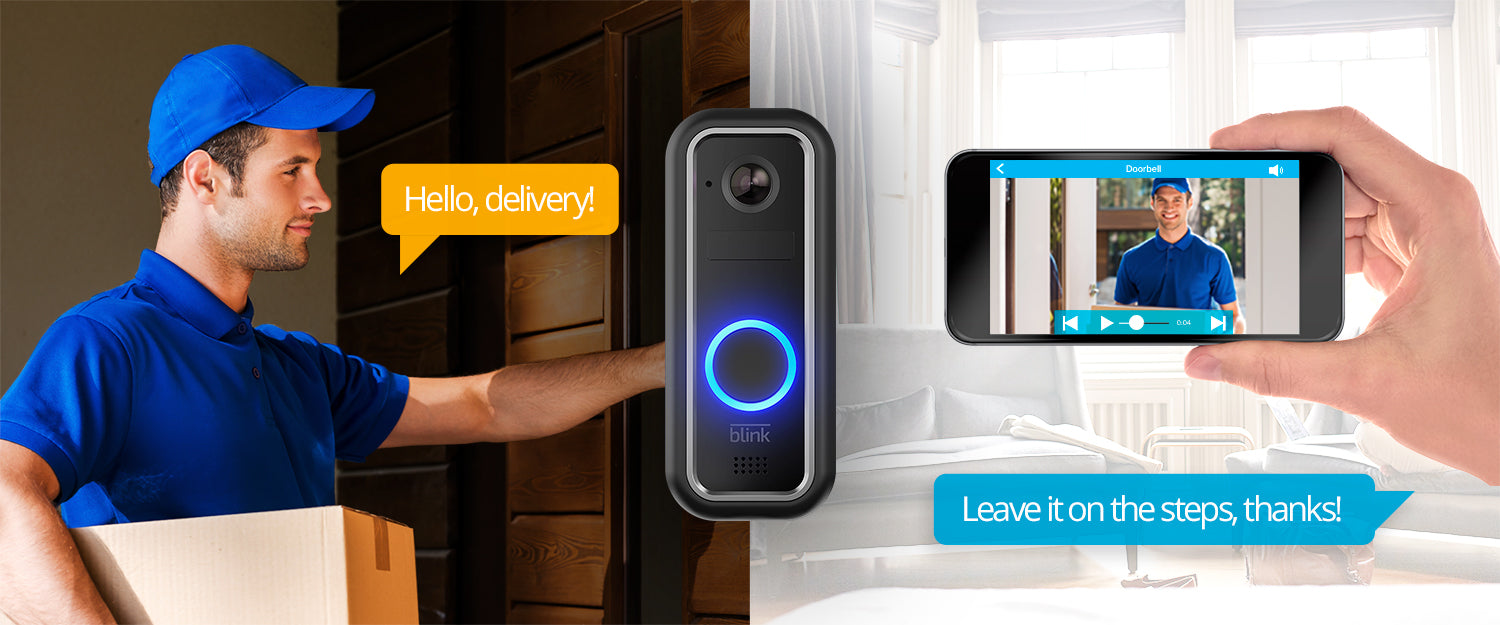 Blink Video Doorbell With 2 Way Audio