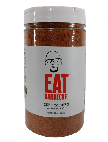 Eat Barbecue Zero to Hero 29oz