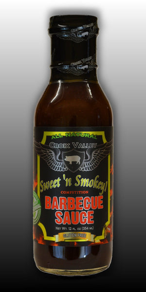Croix Valley Sweet 'n Smokey Competition BBQ Sauce