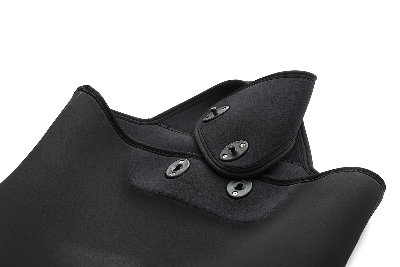 Inside of open cell wetsuit